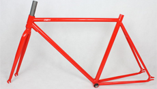 700c steel frame and fork
